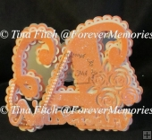 Floral Anniversary Layered Card TF0172, SVG, CRICUT, CAMEO