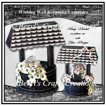 Wishing Well Keepsake/Luminary