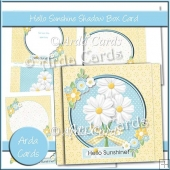Hello Sunshine Shadow Box Card