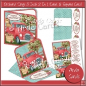 Orchard Days 5 Inch 2 in 1 Easel & Square Cards