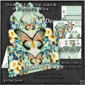 Over the Edge Card & Facets Box Blue Fantasy 1266