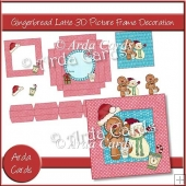 Gingerbread Latte 3D Picture Frame Decoration