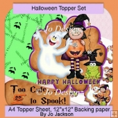 Halloween Cute Topper Set