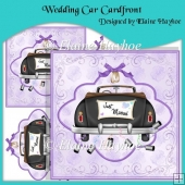 Wedding Car Cardfront