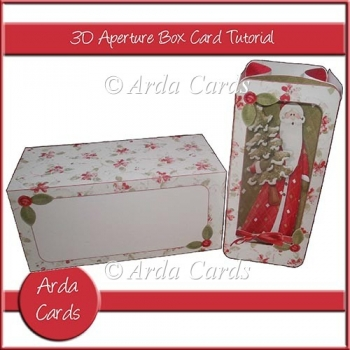 3D Aperture Box Card Tutorial