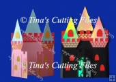 Princess Gatefold Card