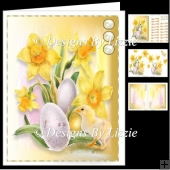 Easter Daffodils With Chick Mini Kit