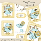 Tiny Tweets Toppers 2(Retiring in July)