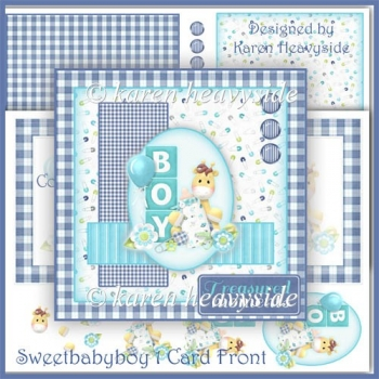 Sweetbabyboy 1 Card Front