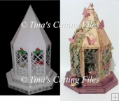 Lantern on Plinths Design 2 for Christmas Weddings Etc