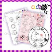 Love is in the air circle digi sentiments