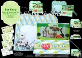 Pet Shop Pop-Up Box Card Kit & Matching Envelope