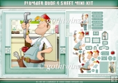 Plumber Dude 4 Sheet Mini Kit