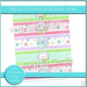 Bonnets & Bowties Small Bottle Wraps