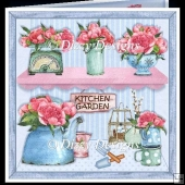 Kitchen Garden Card Front & Inserts