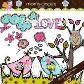 Doodle Birdy in Love Collection