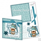 Baby's First Christmas Boy Card Sheet