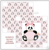 Baby Panda Girl 2 Square Box