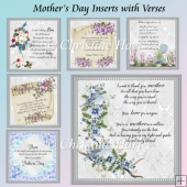 Mothers Day Inserts with Verses Bumper Kit