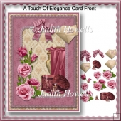 A Touch of Elegance Card Front