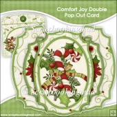 Comfort Joy Double Pop Out Card & Envelope