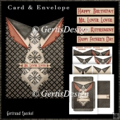 All Men Card Kit With Envelope 3