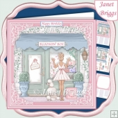 BLOOMIN BOX THE FLORIST SHOP 7.5 Decoupage & Inert Card Kit