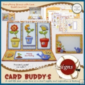 Everything Grows with Love Easel Card Kit