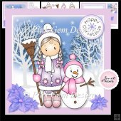 Chloe & Snowman Mini Kit