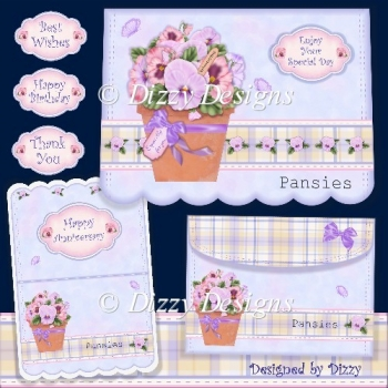 Simply Pansies