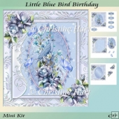 Little Blue Bird Birthday Mini Kit