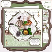 GARDENING THERAPY 7.5 Pyramage & Insert Card Kit