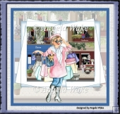 Retail therapy 7x7 card