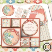 Super Cute Trifoldcard Sweet Tweet Birthday