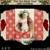 Pop Out Bengi Card Christmas Kid