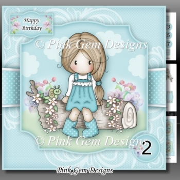 Spring Chloe Mini Kit With Ages 2 to 7 yrs