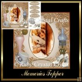 Memories Decoupage Topper