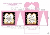 Messy Cats Love Cats Pink Cats Treats Or Gift Box For Friend