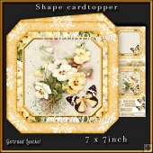 Shape Card Topper 340 Yellow