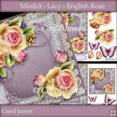 Minikit - Lacy - English Rose