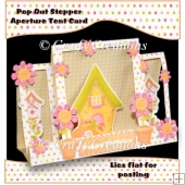 Bird House Aperture Stepper Card