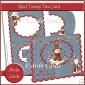 Glad Tidings Tent Card