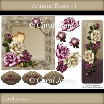 Antique Roses - 1