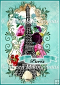 Paris Banner A4 Card Front