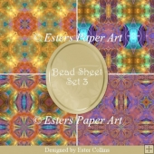 Printable Paper Bead Sheet Set 3