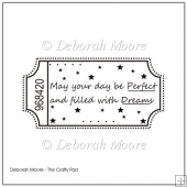 May Your Day Be Perfect Digital Stamp/Sentiment