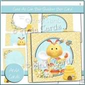 Cute As Can Bee Shadow Box Card
