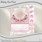 Wedding Easel Card Sheet