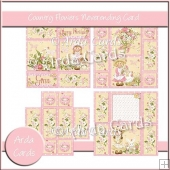 Country Flowers Neverending Card