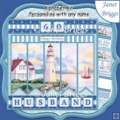 LIGHTHOUSE 7.5 Alphabet and Age Quick Card Kit Create Any Name